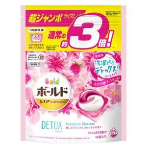 ボールド ジェルボール3D 癒しのプレミアムブロッサムの香り つめかえ超ジャンボサイズ 46個入|kport