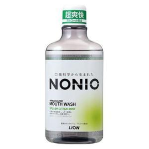 【医薬部外品】NONIO ノニオ マウスウォッシュ スプラッシュシトラスミント 600ml|kport