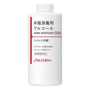 【指定医薬部外品】資生堂 手指消毒用エタノール液 つけかえ用 500mL|kport