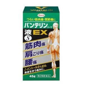 【第2類医薬品】バンテリン液EX 45g(セルフメディケーション税制対象)【期限2022.8.31】