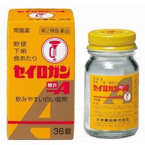 【第2類医薬品】大幸 セイロガン糖衣A 36錠[大幸薬品 正露丸 下痢止め]