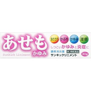 【第3類医薬品】サンキックリニメント 30g|kport