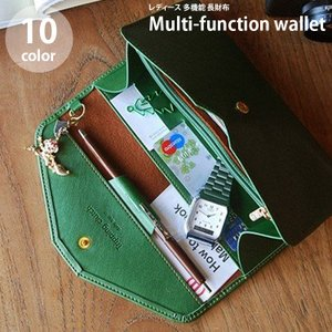 長財布 財布 多機能 レディース 大容量 かわいい スマホケース プレゼント 人気 女性用 ピンク オシャレ 可愛い カード入れ 安い 新品