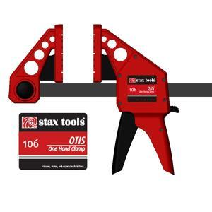 staxtools 106 オーティス ワンハンド クランプ(Otis One Hand Clamp) モデル:150mm(旧カラー赤)|kqlfttools