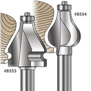 MLCS Handrail Router Bits(手すり/ハンドル ビット) #8553 1/2軸(12.7mm)|kqlfttools