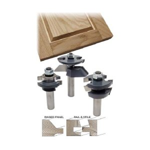 MLCS Shaker Raised Panel  3Piece Set(ストレートレールスタイル3本セット)#8361|kqlfttools