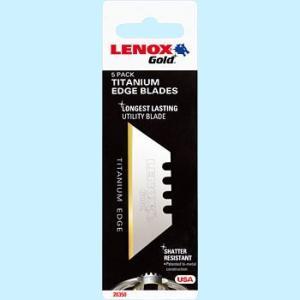 LENOX ユーティリティGoldブレード5枚(T20350-GOLD5C)|kqlfttools