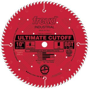 Freud ブレード 80枚刃 Ultimate Cut-Off Saw Blade  (LU85R010)|kqlfttools
