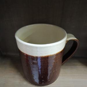 【在庫限り】マグカップ エッジライン ブラウン|kqlfttools