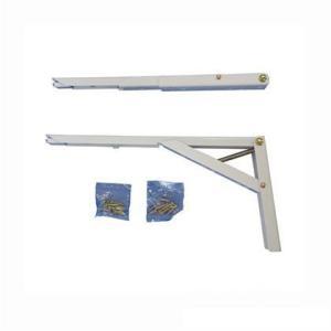ワンタッチ折り畳み棚受タッチポン ペア 200mm(G312-200ホワイト)1組|kqlfttools