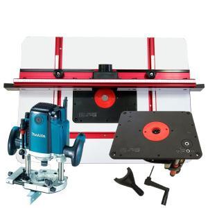 【stax tools】 691 サンオブサム(ルーターリフター)+【stax tools】 401 Wood Cooker ルーターテーブル + マキタ RP2301FC 電子ルータセット|kqlfttools