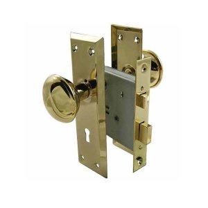 ULTRA Mortise Lock 真鍮ドアノブ(掘り込み錠) |kqlfttools