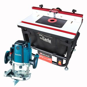 【stax tools】 404 CARLA - Bench Top Router Table (ベンチトップルーターテーブル) + マキタ RP2301FC ルーターセット|kqlfttools