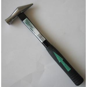 利五郎 グラスファイバー柄 先切金槌 ミラー仕上 21mm|kqlfttools