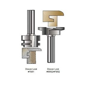 MLCS Drawer Lock Router Bits(ドローワーロックビット)|kqlfttools