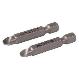 WOLFCRAFT #2982 damaged screws      (つぶれ頭用ビット2本組)|kqlfttools