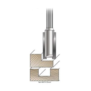MLCS Straight Router Bits(ストレートビット) #7774 刃長 25.4mm|kqlfttools