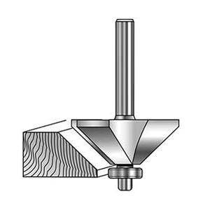 MLCS Chamfer Router Bits  #7681|kqlfttools