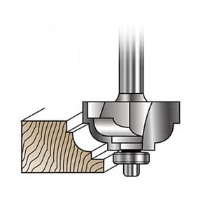 MLCS Double Fillet and Cove Router Bits  #5528|kqlfttools