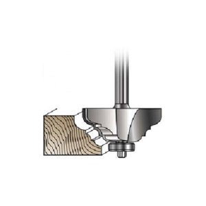MLCS Double Cove and Bead Router Bits(モールディング用ビット)#5523|kqlfttools