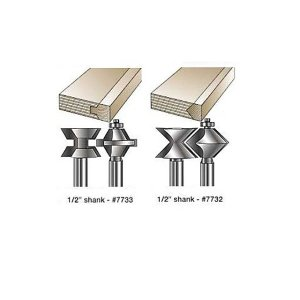 MLCS Edge Banding Router Bit Sets(エッジバインディングビット) #7733|kqlfttools