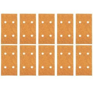 リョービ(RYOBI) 汎用木工ペーパー  サンダ  10枚組 75×140mm 穴あり|kqlfttools