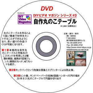 MIRAI DIYビデオマガジンシリーズ #03(特集・自作丸のこテーブル)|kqlfttools