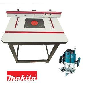 【stax tools】 401 Wood Cooker Router Table  マキタ RP2301FC 電子ルーターセット|kqlfttools