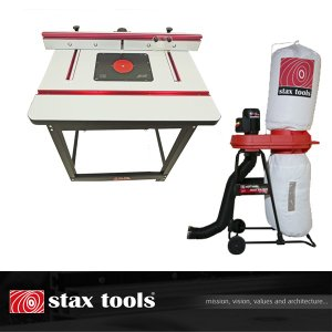 【stax tools】 401 Wood Cooker Router Table  staxtoolsマジックバルーンセット|kqlfttools