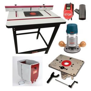 ★6月中旬入荷予定【stax tools】 401 Wood Cooker Router Table INCRA Clean Sweep set (JESSEMシステム)|kqlfttools