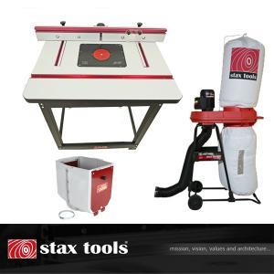★6月中旬入荷予定【stax tools】 401 Wood Cooker Router Table  INCRA Clean Sweep+マジックバルーン set|kqlfttools