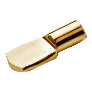 HAFELE スプーン型棚ダボ10個セット . 5mm ゴールド #282.04.515|kqlfttools