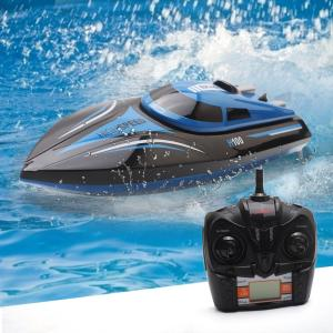 ゲーム おもちゃ ラジコン  船 ボート 潜水艦高速RCボート H100 2.4 GHz 4チャンネル 30キロメートル/ h レーシングリモートコントロールボート