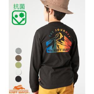 プリント 長袖 Tシャツ 120cm〜170cm キッズ ジュニア ティーンズ 抗菌ロゴポケロンT ...