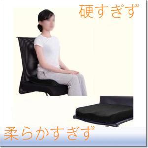 車椅子用 低反発 クッション 立体成型 車いす 座布団 洗えるカバー|krisonstore