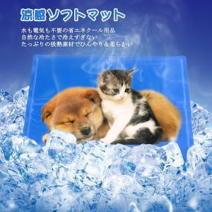 【犬猫の夏暑さに対策】ひんやりや涼しさを感じるペットマットは、短時間のうちに体から熱と吸収することに...