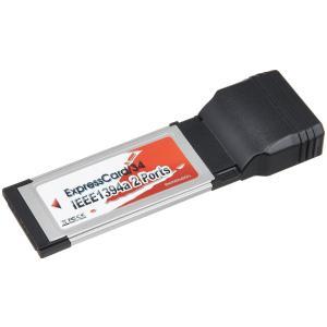 玄人志向 インターフェースボード IEEE1394 ExpressCard 34/54 1394A2-EC34|krsfyk