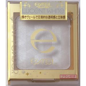 エクセル シャイニーパウダーN SN04 ルーセントホワイト 4.3g