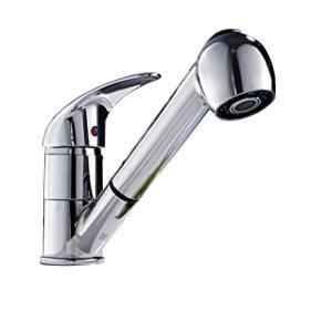 MEOW MARKET シャワー水栓 シャワーノズル シャワーヘッド 混合水栓 混合栓 水洗金具 部品 交換 リフォーム 蛇口 キッチン 洗面台 台所 伸縮 高水圧 取り付けホ|krsfyk