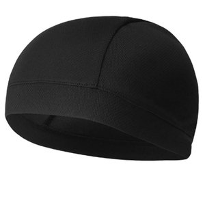 メンズ帽子 バンダナキャップ インナーキャップ 吸汗 速乾 通気 メッシュキャップ 無地 伸縮性 アウトドア サイクリング 自転車 バイク ランニング スポーツキャ|krsfyk