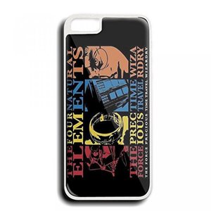 galaxy s6 スマホケース ハリーポッター Harry Potter Lord of the Rings doctor who andStar Wars natural elements For iPhone 5/5S white 正規輸入品
