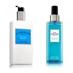 bath and body works フレグランス C.O. BIGELOW - Bath& Body Works GIFT SET- New scent collection of unisex fragrance,SEA SALT MIMOSA ,11.6 FL oz.
