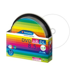 DTR85HP10SV1  【商品名】 (まとめ) バーベイタム データ用DVD+R DL 8.5G...
