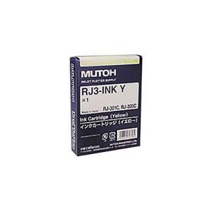 FWMG003  【商品名】【純正品】 MUTOH インク RJ3-INK-Y イエロー  (Tポイ...