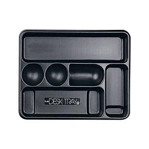 63-812  【商品名】 (まとめ) プラス デスクトレー M ブラック63-812 1個 【×1...