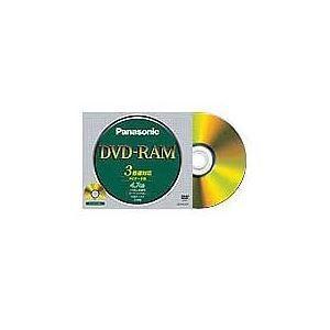 LM-HC47L  【商品名】 (まとめ)パナソニックデータ用DVD-RAM(カートリッジなし) 4...