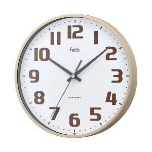 【商品名】 ノア精密 Felio 掛時計 チュロス FEW182IV-Z   ※詳細は商品説明をご確...