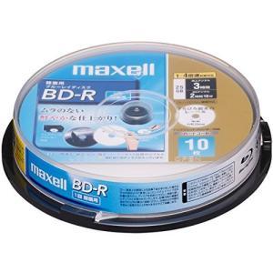 日立マクセル 録画用ブルーレイディスク BD-R 130分 (1~4倍速対応) インクジェットプリンター対 BR25VFWPB.10SP|ks-hobby