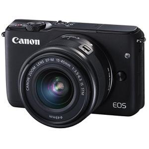 Canon ミラーレス一眼カメラ EOS M10 レンズキット(ブラック) EF-M15-45mm ...