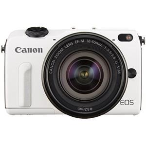 Canon ミラーレス一眼カメラ EOS M2 EF-M18-55 IS STM レンズキット(ホワ...